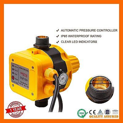 New Auto Water Pump Controller Pressure Switch Automatic Control Electric Unit