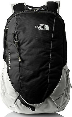 The North Face TNF Kuhtai 24 Litre 24L Backpack Rucksack Daypack Bag Black Grey