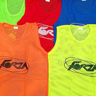 FORZA Pro Training Bibs/Vests (5 Colours) (5/10/15 Pack) [Net World Sports]