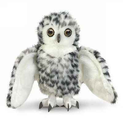 Small Snowy Owl Puppet by Folkmanis - 3047