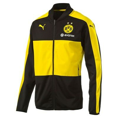 Puma BVB Poly Jacket with Sponsor Herren Trainingsjacke 749873 01 Dortmund 09