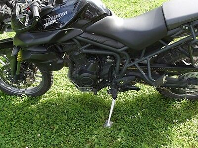 TRIUMPH TIGER 800 side stand support enlarger shoe large foot bigfoot extension