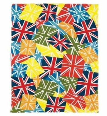 Union Jack Multi Coloured Tea Towel COLLECTORS ITEM