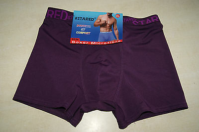 Boxer violet neuf taille XL marque STARED