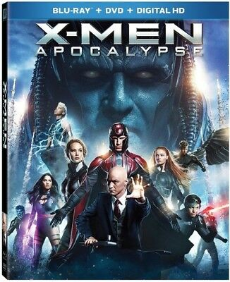 X-Men: Apocalypse [New Blu-ray 3D] With Blu-Ray, Widescreen, 2 Pack, Ac-3/Dolb