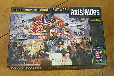 Avalon Hill Axis and Allies Spring 1942 Edition 370 Piece 2009 - MINTY