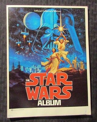 1977 THE STAR WARS ALBUM 1st Ballantine SC GD 2.0 Official Collector's Edition