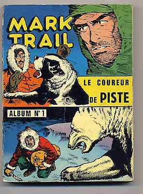 Mark Trail Collection complète 3 reliures 1964 TBE