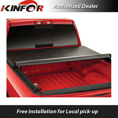 Premium Vinyl Rolling Up Tonneau Cover for 2014-2016 Ram 1500 - 6' 2'' Bed