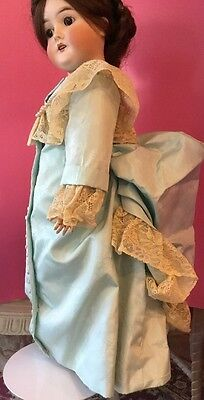 Antique German Queen Louise Bisque/compo Marked 7