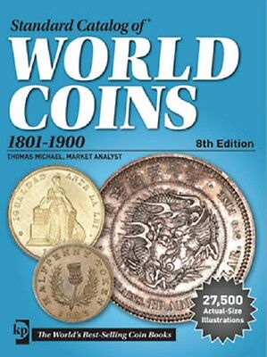 2017 Krause Cd Standard Catalog Of World Coins 1801-1900 8Th Edition
