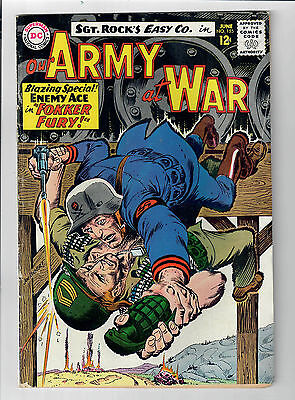 OUR ARMY AT WAR #155 Joe Kubert cover! Starring Sgt. Rock! GRADE 6.0!!!