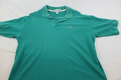 "XL Izod Lacoste polo shirt  22.5"" green Chemise Lacoste"