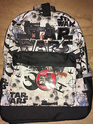 Disney Loungefly Star Wars Backpack With Hood Bag Authentic