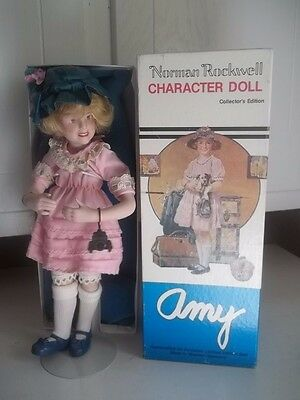 Vintage Estate Find Norman Rockwell Doll Mary Original Box