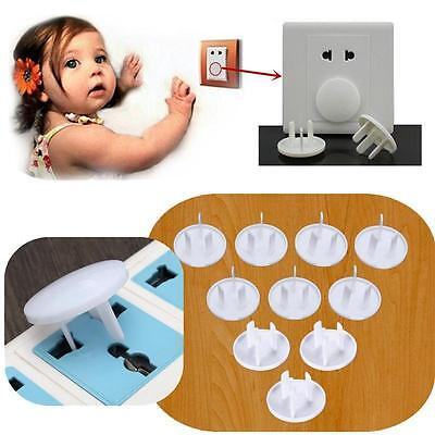 Power Socket Outlet Plug Protective Cover Shock Guard Baby Proof Child SafetySM