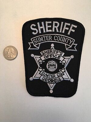 Sumter County Georgia Sheriffs Office Police Patch Ga