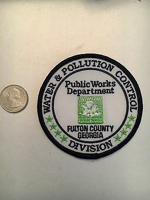 Fulton County Georgia Public Works Pollution And Water Control Patch Ga