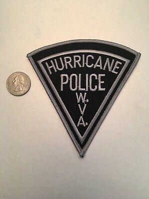 Hurricane West Virginia Police Department Patch Wv Swat Subdued