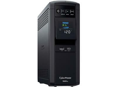 CyberPower CP1500PFCLCD - PFC Sinewave UPS Systems - Pure Sine Wave | 100% Activ