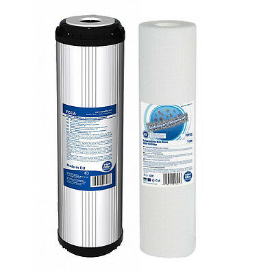 Set of 5 Micron Sediment and Granular Activated Carbon for Reverse Osmosis