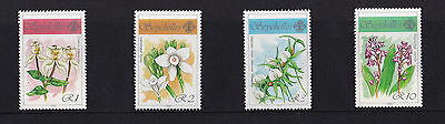 Seychelles - 1990 Orchids (2nd Issue) - U/M - SG 767-70