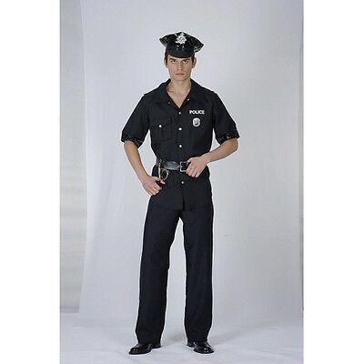 Policeman Adult Costume, Cop, America, USA, Fancy Dress AC839