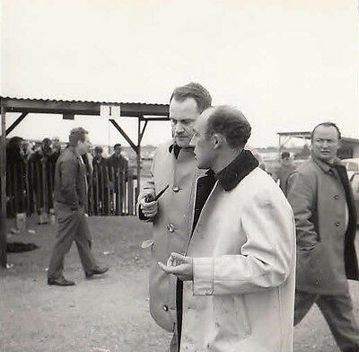 Stirling Moss At ?goodwoo? Small Size Photograph.