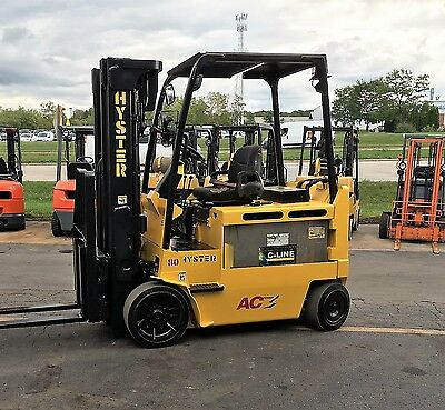 2010 Hyster Electric E80Z 8000Lb Forklift Lift Truck