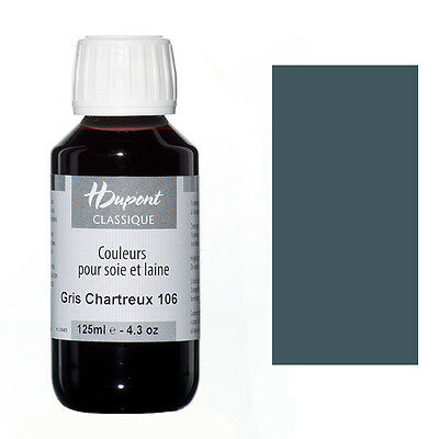 Dupont Seidenmalfarbe 125 ml Gris Chartreux