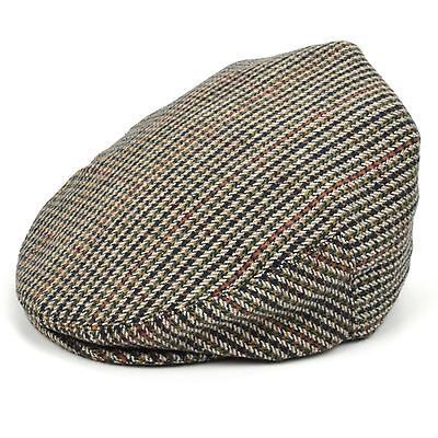 Flat Cap Hat Tweed Country Classic Brown Mens Golf Gatsby Baker Newsboy