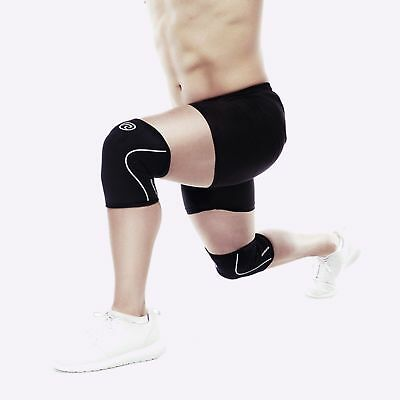 New Rehband Knee Sleeve - 5mm Black/White - SINGLE from The WOD Life