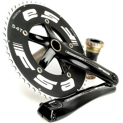 NEW FSA Gossamer TT Megaexo Black 54/42 Crankset 170mm