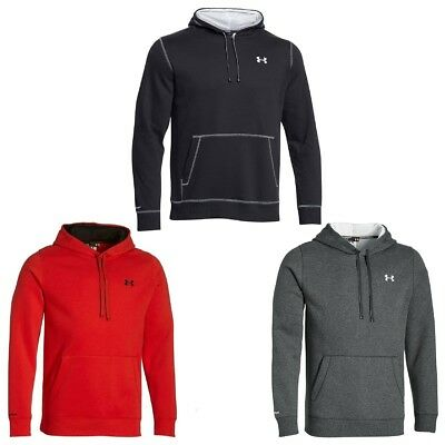 Under Armour Storm Cotton Hoody Herren Sweatshirt Wasserabweisend
