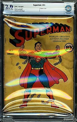 Superman #11 CBCS 2.0 Southern Belle Collection!