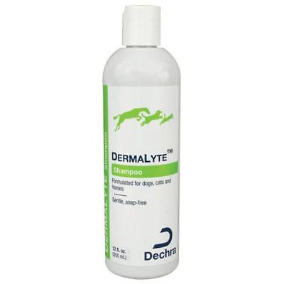 DermaLyte Hypo allergenic Pet Shampoo no Soap Dog grooming 12oz Made in USA