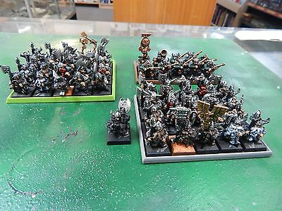 Games Workshop Warhammer Fantasy Dwarves 51 figures metal and plastic