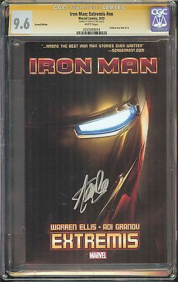 Iron Man: Extremis #nn CGC 9.6 NM+ SIGNED STAN LEE Marvel Collects Iron Man #1-6