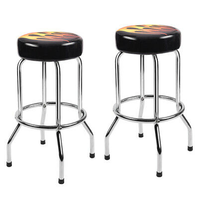 Prime Set Of 2 Modern 29 Counter Height Flame Bar Stools Round Bralicious Painted Fabric Chair Ideas Braliciousco