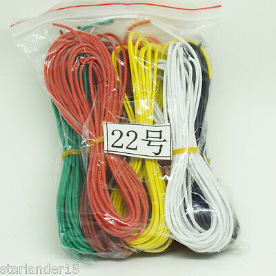 10 Meter 22AWG Flexible Soft Silicone Wire Tin Copper RC Electronic Cable 8Color