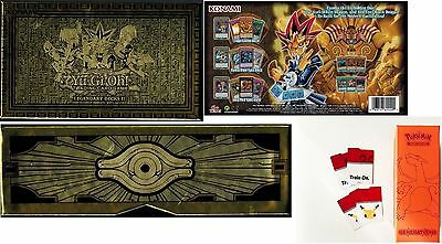 Lot Yugi's Legendary Decks 2+ Charizard *Empty* BOX *(No Cards)* Super Premium