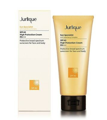 30%Off Free Post Jurlique SPF40 High Protection Cream 100ml Natural Anti-aging