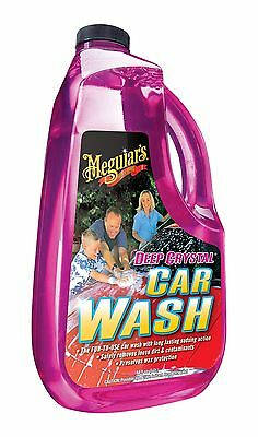Meguiar's G10464 Deep Crystal Car Wash - 64 oz., 128 oz., [Non-streaking] AOI