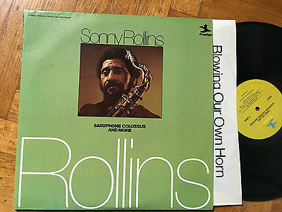 2 LP USA 1975 NM Sonny Rollins ‎– Saxophone Colossus And More