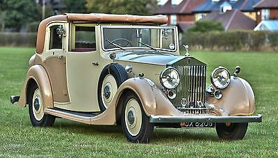 1936 Rolls Royce 25/30 Sedanca.