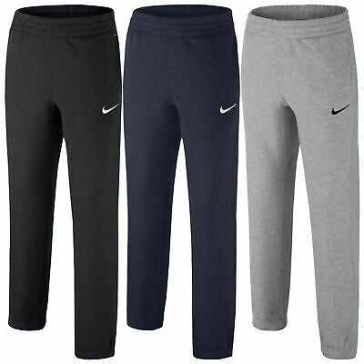 Nike Kids Boys Sports Running Tracksuit Bottoms Black Navy Grey Joggers Pants