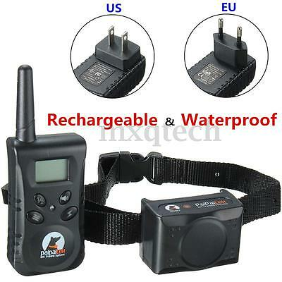 PD 520 Electric Shock Pet Safe Dog Training Remote Rechargeable Waterproof