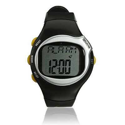11Q4 Sport Pulse Heart Rate Monitor Calories Counter Fitness Wrist Watch