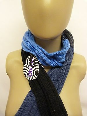 Boys Kids Barts Luca Blue Winter Scarf ideal for winter or xmas present BNWT