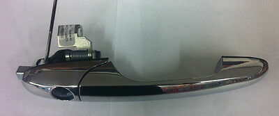 Fiat 500 Genuine (OE) R/H Drivers Side Front Door Handle in Chrome P/N 735592012